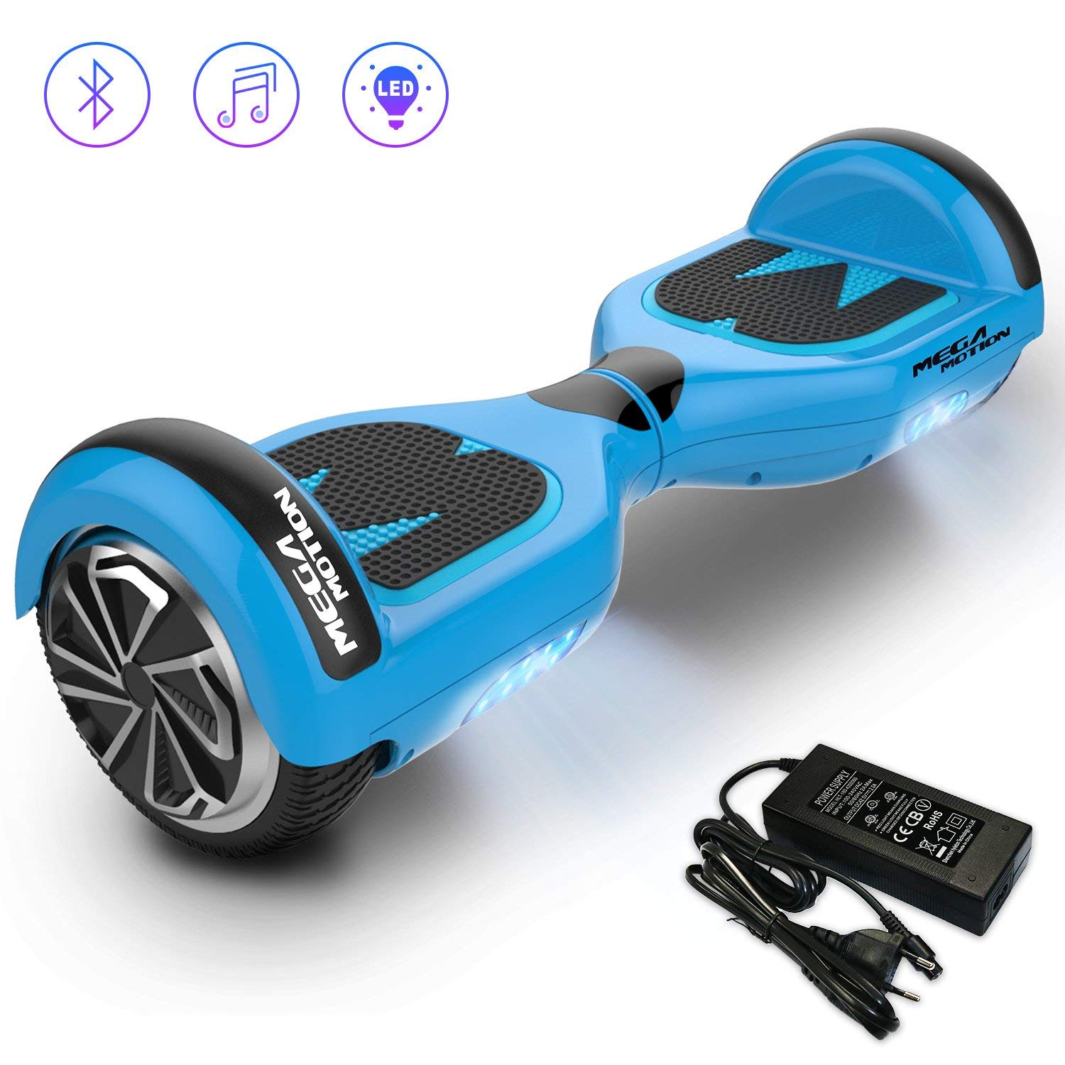 mega motion hoverboard e1. Black Bedroom Furniture Sets. Home Design Ideas